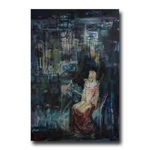 Original painting entitled Queen by Vyacheslav Bakitsky