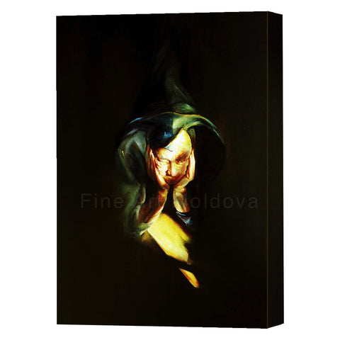 Canvas Print entitled Harlequin (1 of 5, small size) by Robert Ixari