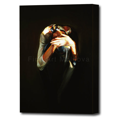Canvas print entitled harlequin (4 of 5, small size) by Robert Ixari