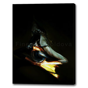 Canvas Print entitled Harlequin (5 of 5, big size) by Robert Ixari