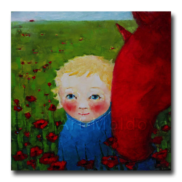 Me, You and the Poppy Field