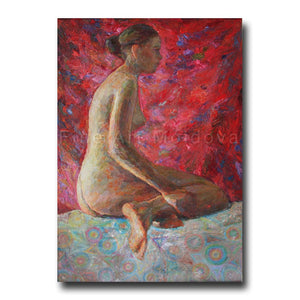 Original painting Nude by Veronica Iftodii