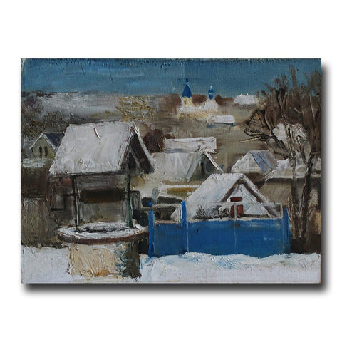 Original painting by Vadim Palamarciuc on fineartmoldova.com