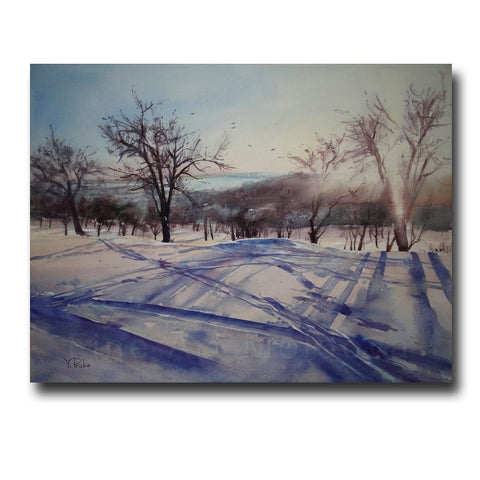 Original painting by Yana Proka on fineartmoldova.com