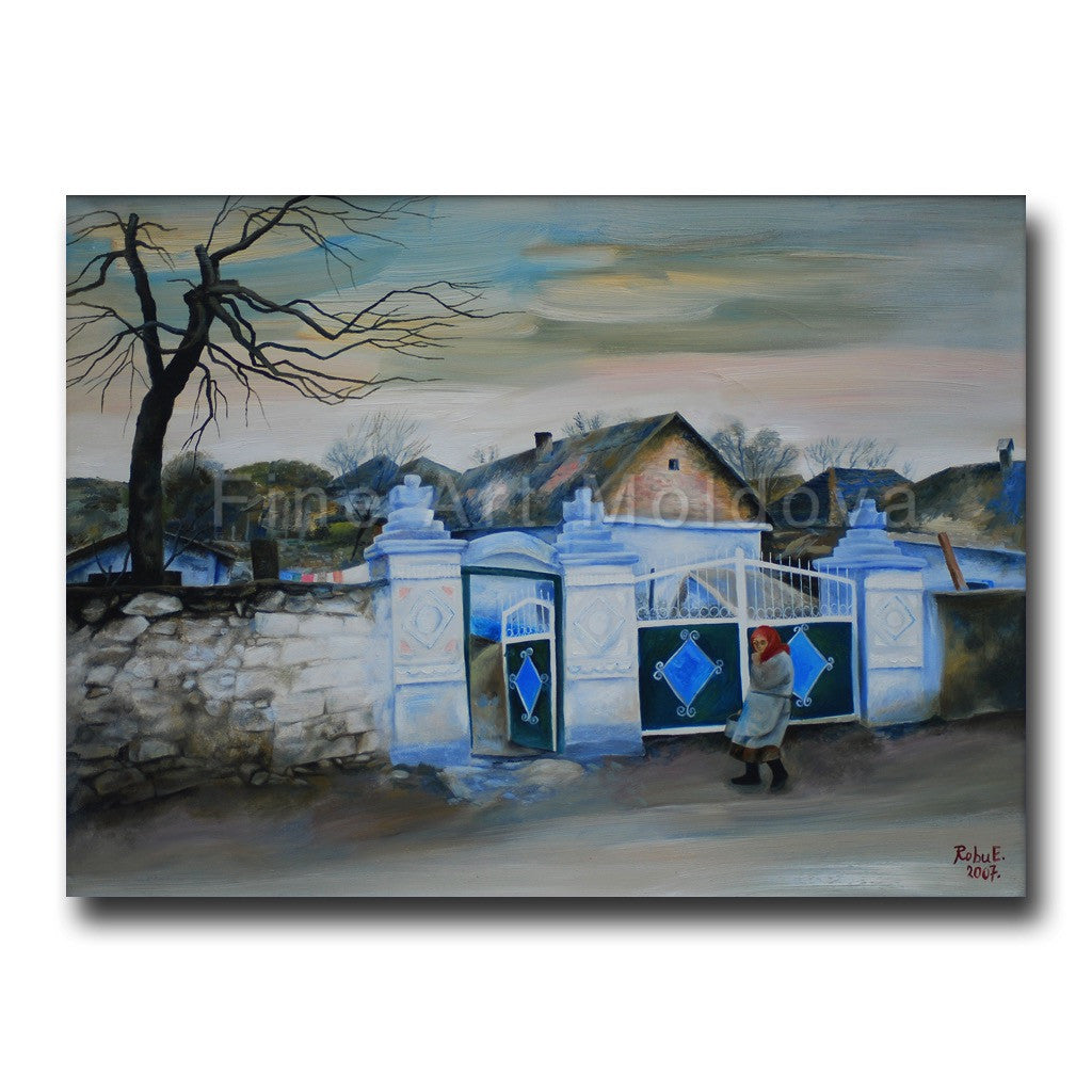 Original painting by Eudochia Robu on fineartmoldova.com