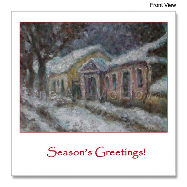 Old Town, Sfatul Tarii str. - Season's Greetings! - packs of 5 or 10