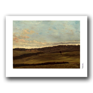 Fine art print titled Incomparable Topography by Moldovan artist Nelly Vrânceanu