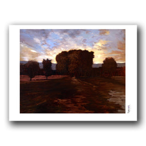Fine art print titled The Shadows in the Back by Moldovan artist Nelly Vrânceanu