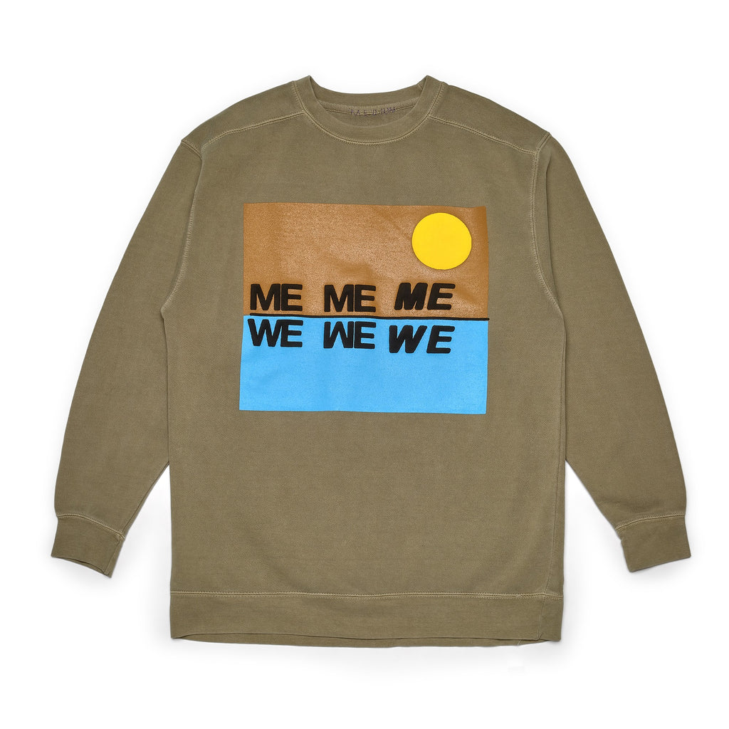 Cactus Plant Flea Market Me 2 We Desert Reflections Crewneck Tan