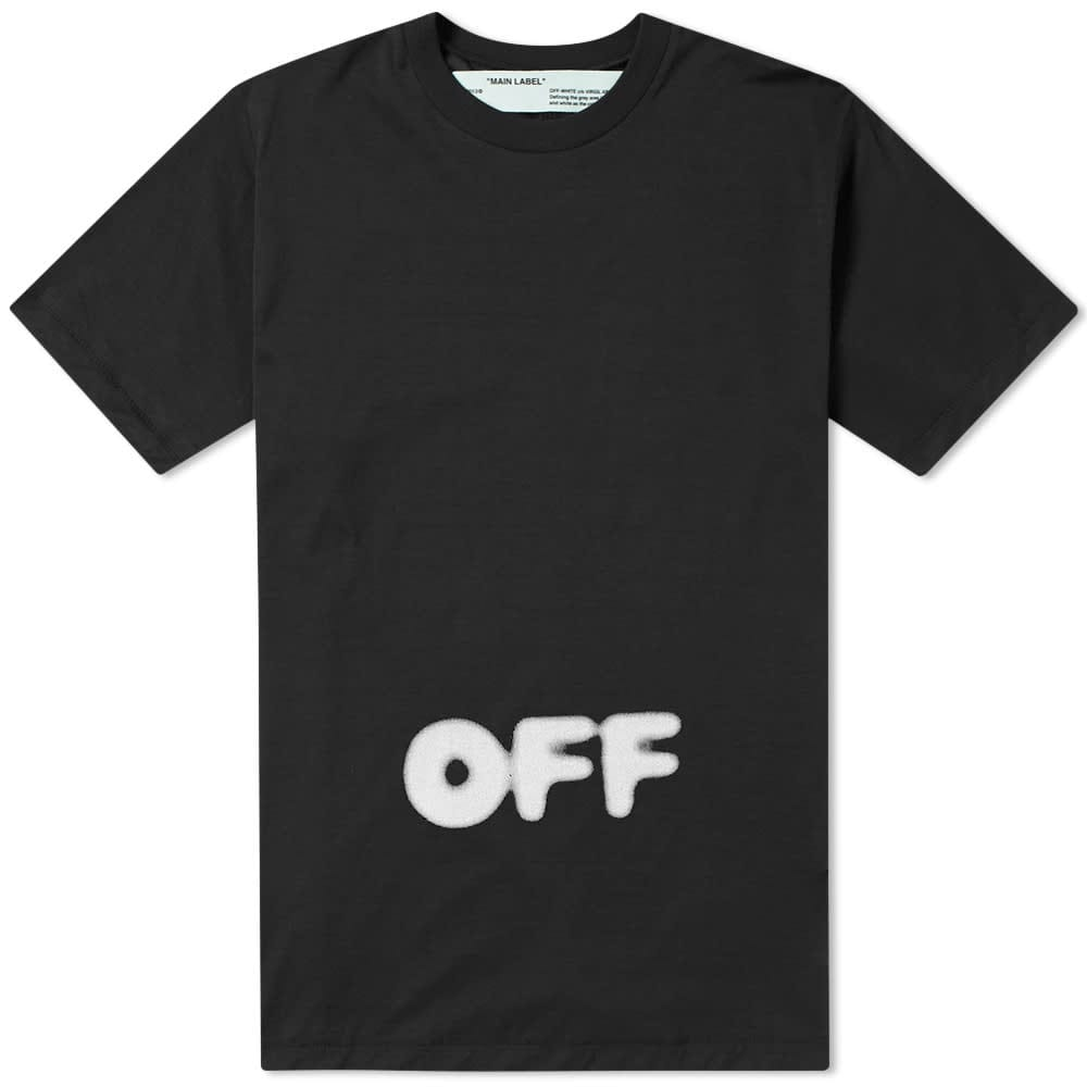 OFF-WHITE Kidmograph Tee Black