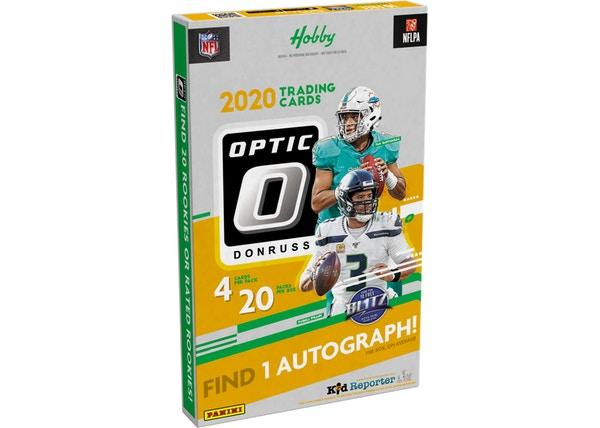 Panini 2020 Donruss Optic Football Hobby Box