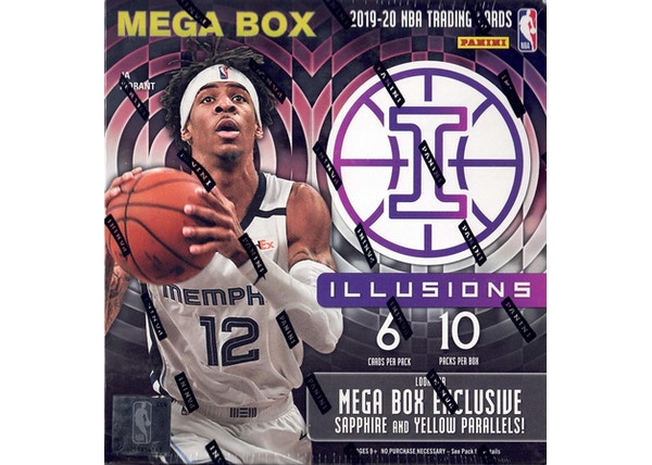 Panini 2020 Illusions Basketball Mega Box