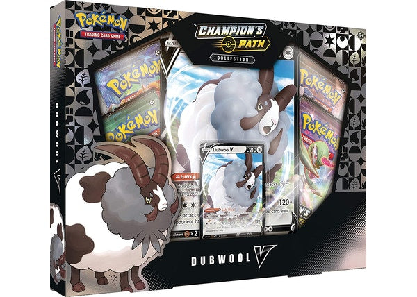 Pokemon 2020 Champion's Path Collection Dubwool V