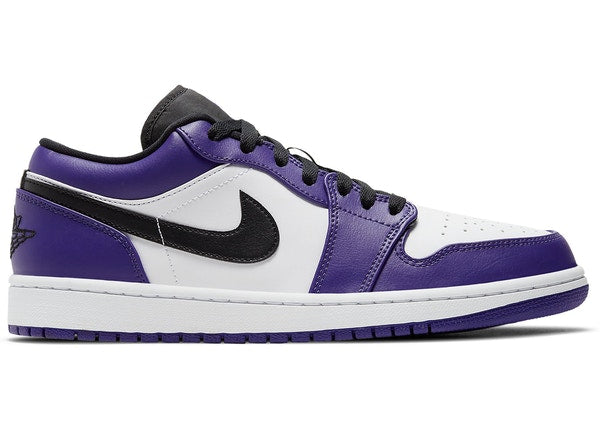 Air Jordan 1 Low Court Purple White