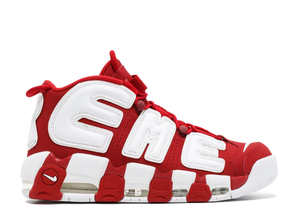 "Nike x Supreme Air More Uptempo ""Red"""