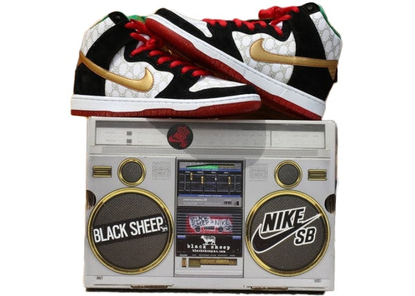 Nike SB Dunk High Black Sheep Paid In Full (Special Box)