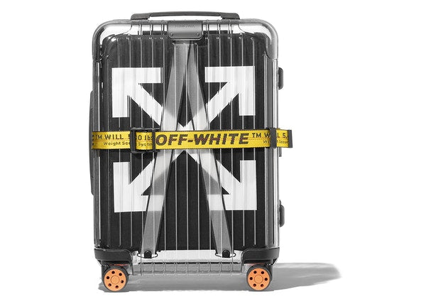 OFF-WHITE Rimowa See Through 36L Case Black