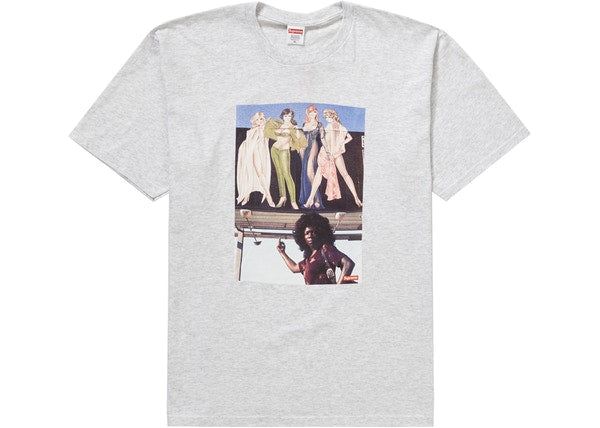 Supreme American Picture Tee Ash Grey
