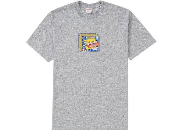 Supreme Cheese Tee Heather Grey