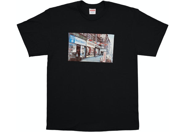 Supreme Hardware Tee Black