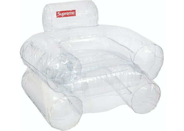 Supreme Inflatable Chair Clear
