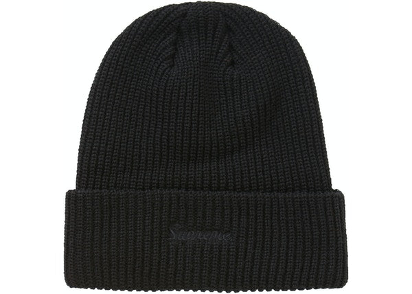 Supreme Loose Gauge Beanie (FW20) Black