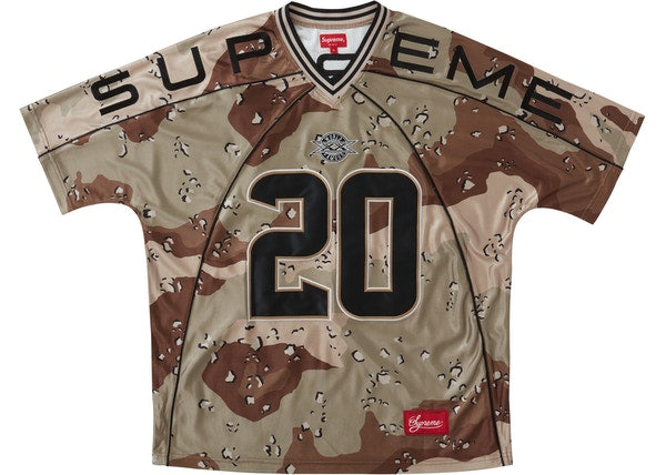 Supreme Paneled Jersey Chocolate Chip Camo