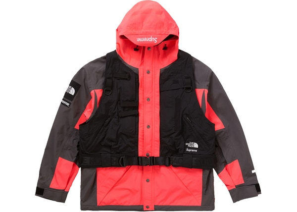 Supreme The North Face RTG Jacket + Vest Bright Red