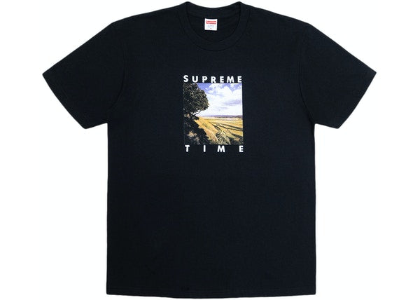 Supreme Supreme Time Tee Black