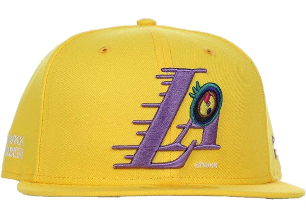 Takashi Murakami ComplexCon x Los Angeles Lakers Eye Cap Gold