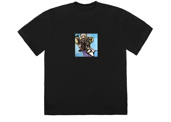 Travis Scott Portrait of Travis Title T-Shirt Black