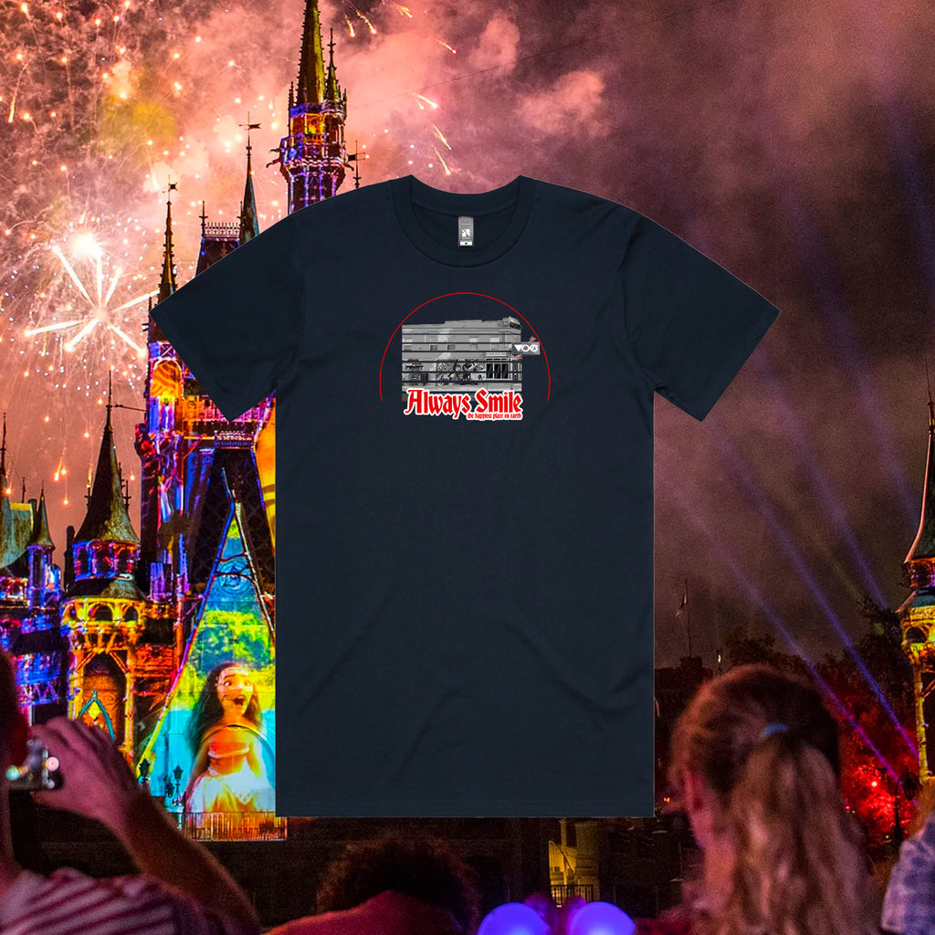 Vices x Always Smile Happiest Place Tee