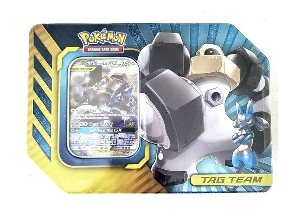 Pokemon 2019 Power Partnership Tin Lucario & Melmetal GX