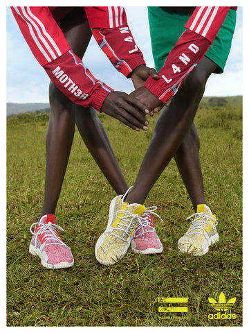 3ed4b9b4f Pharrell and adidas went back to the Motherland for their new Fall Winter  2018 lookbook. Inspired by East Africa