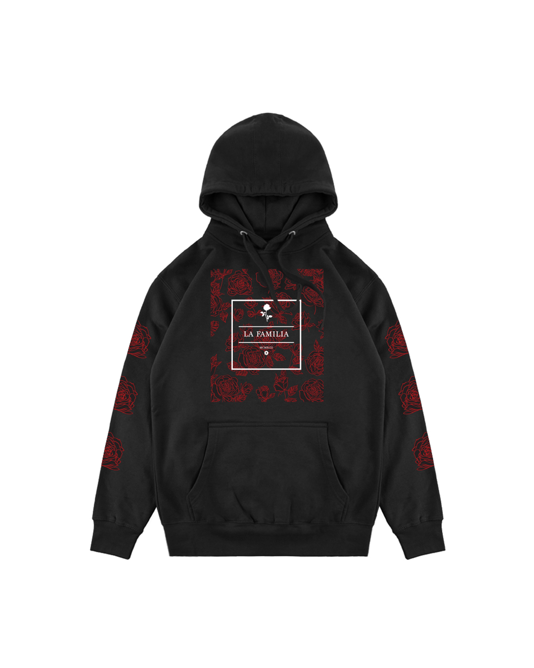 CORE ROSE HOODIE - LA FAMILIA WORLDWIDE