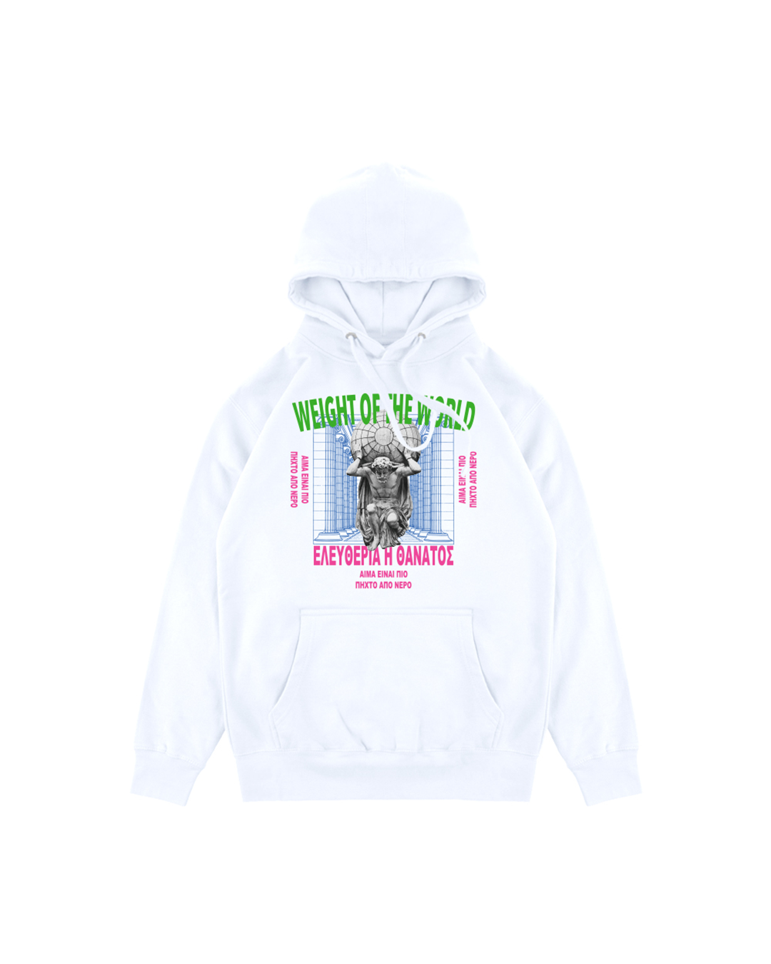WEIGHT OF THE WORLD HOODIE - LA FAMILIA MMXIV