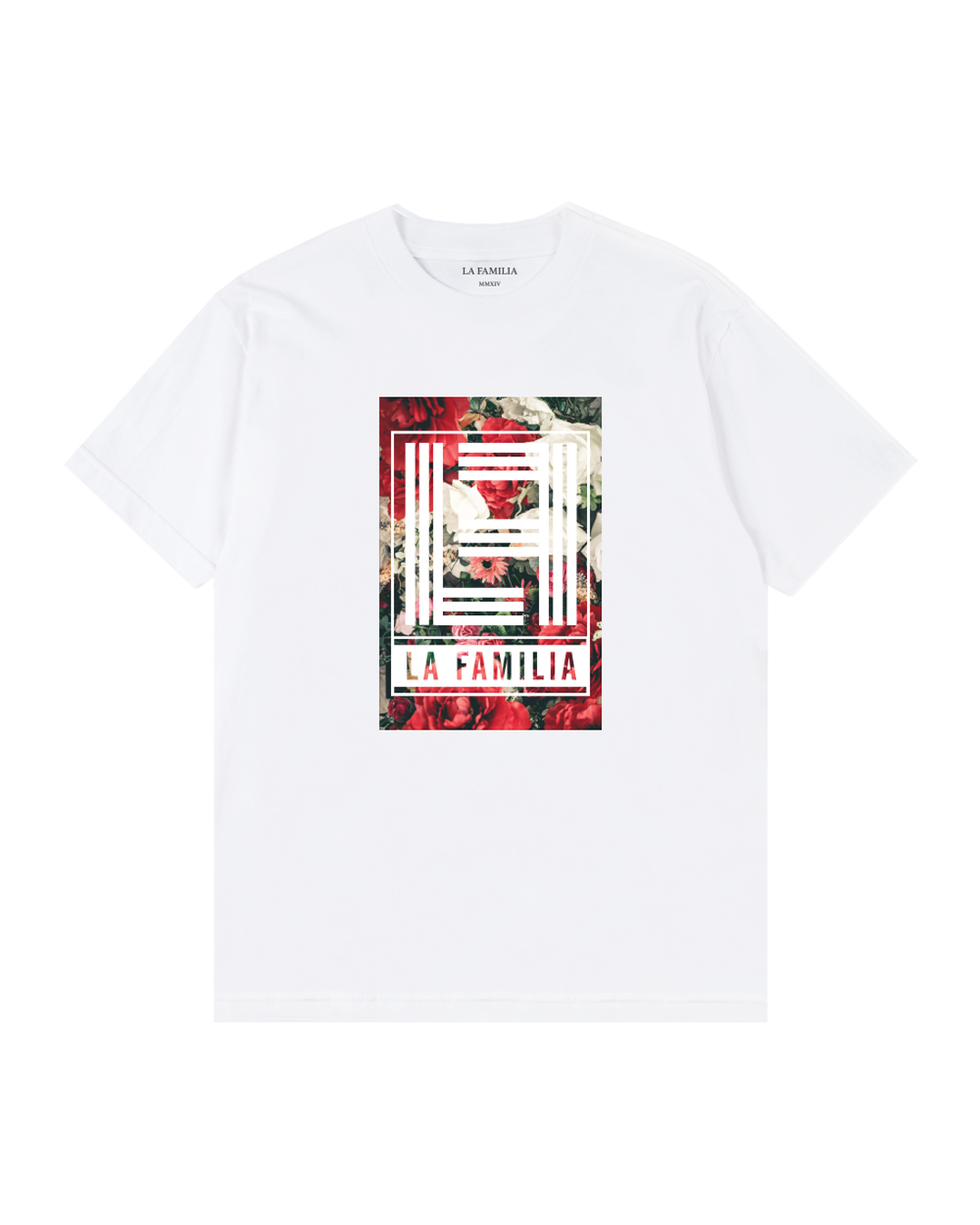 FLOWER BED SS TEE - LA FAMILIA MMXIV