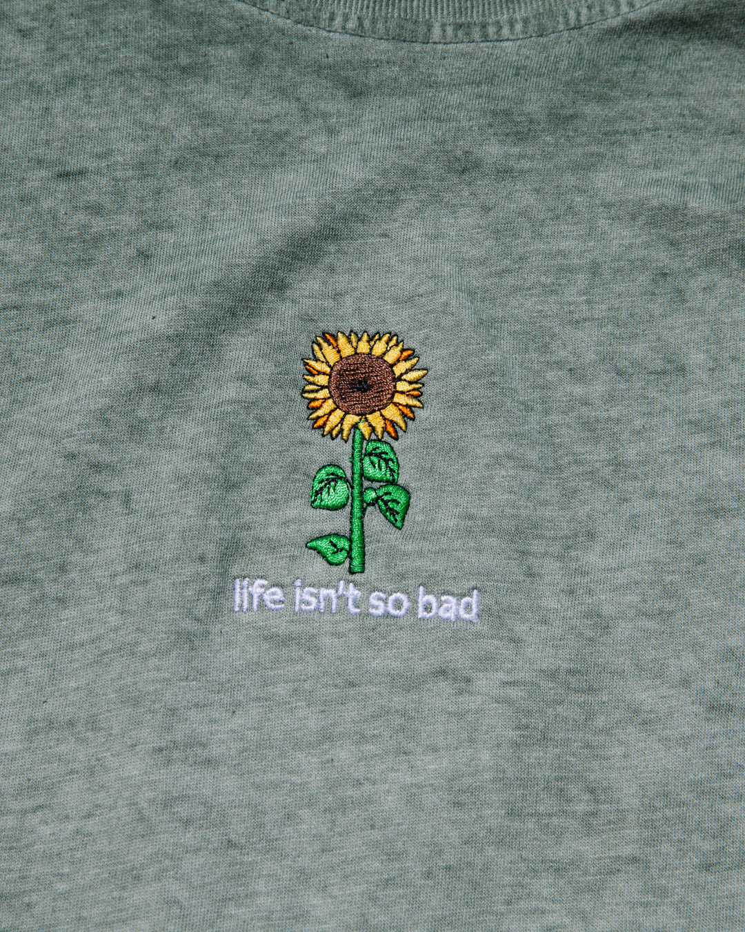 LIFE ISN'T SO BAD WASHED SS TEE - LA FAMILIA MMXIV