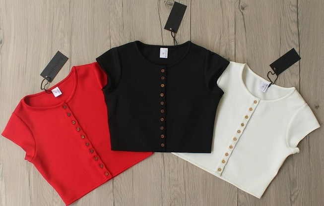 Combo of 3 Urbane Crop Tops