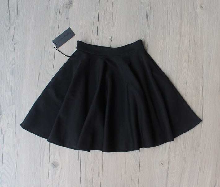 Black Flair Skirt