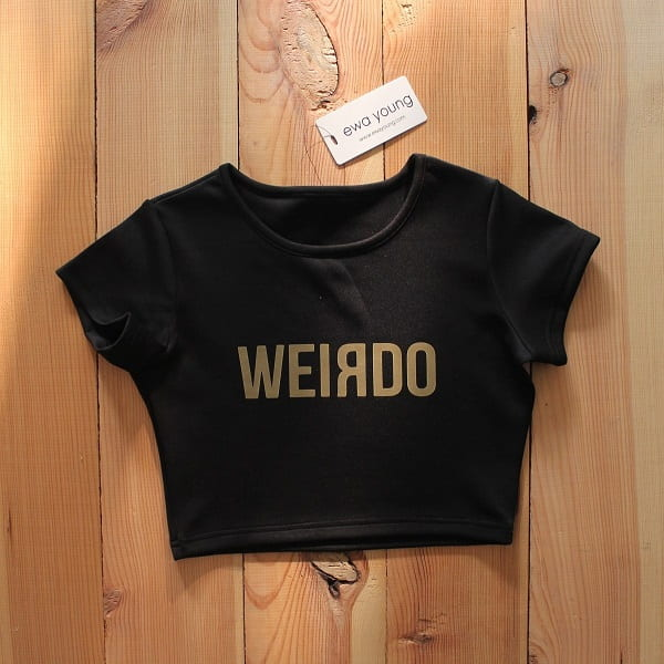 Weirdo Crop Top
