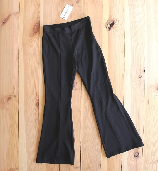 Black Flared Pants - High Waist