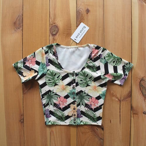 Meandering Forest Urbane Crop Top