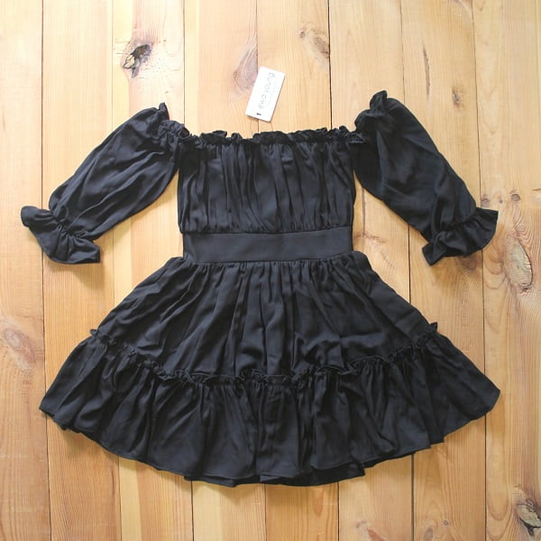 Black Summer Frill