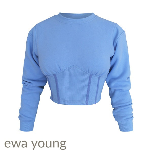 NY Sweatshirt - Electric Blue
