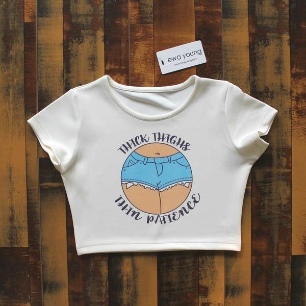 Thin Patience Crop Top