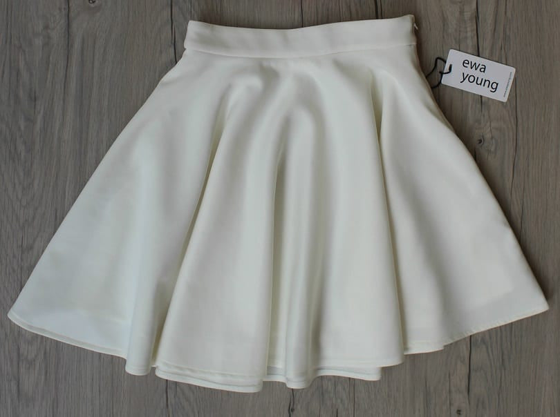 White Flair Skirt