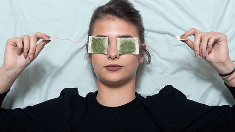 recycle used tea leaves for sore eyes   Life of Cha