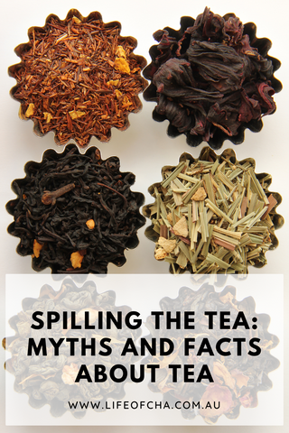 myths and facts about tea