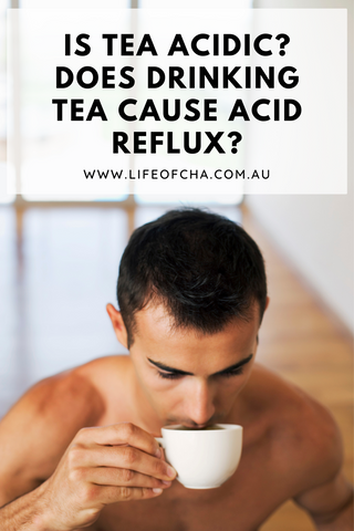 does drinking tea cause acid reflux